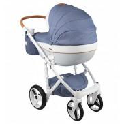 ADAMEX Бебешка количка MONTE Carbon Deluxe 2 в 1