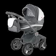 ADAMEX Бебешка количка Avator Carmel & Grey 3 в 1