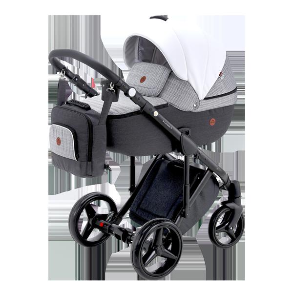 ADAMEX Бебешка количка Luciano Deco 2 в 1