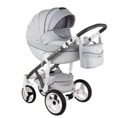 ADAMEX Бебешка количка MONTE Carbon Deluxe 3 в 1