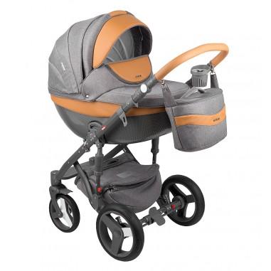 Бебешка количка MONTE Carbon Deluxe